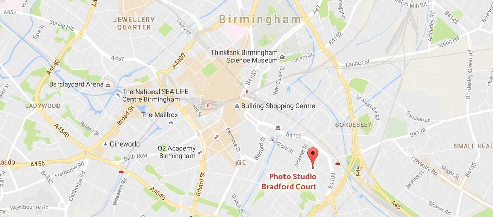 Photo studio Birmingham