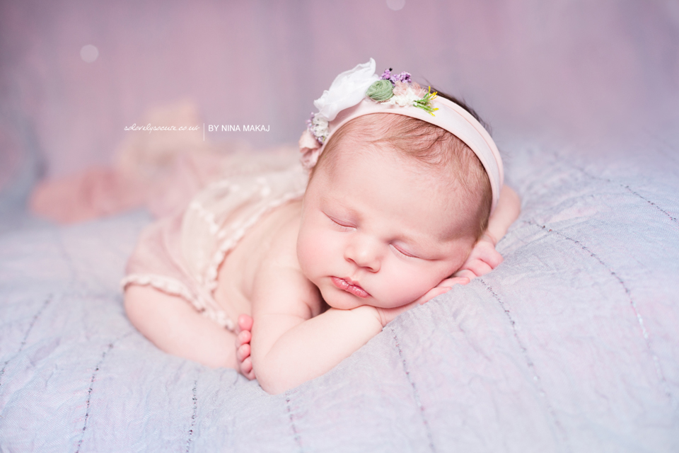 Newborn baby photo session Birmingham