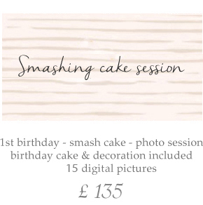 1st Birthday Photo session Birmingham