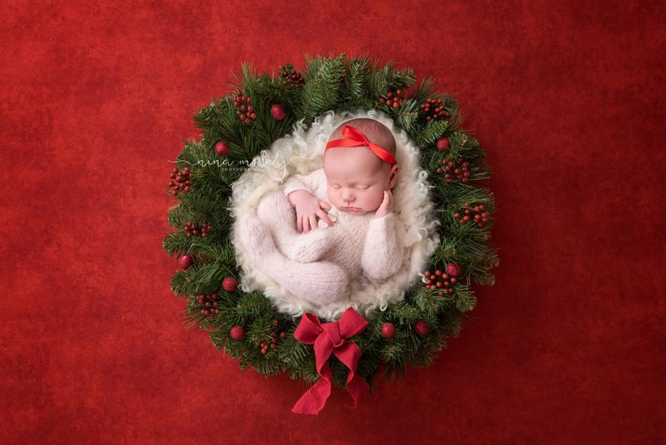 baby photo birmingham christmas1